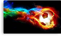 Wallpaper flaming ball, art, soccer, goal, Sport HD Desktop Wallpaper for Ultra HD TV Cross Stitch Kits Uk, Soccer Fifa, Soccer Pictures, Wall Pictures, Paint By Number Kits, Football Wallpaper, Sports Wallpapers, Nice Wallpapers, Kits For Kids