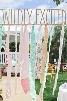 Wildly Excited for the baby! Welcoming the baby with a warm shower <3 Baby Shower Decoration Ideas!