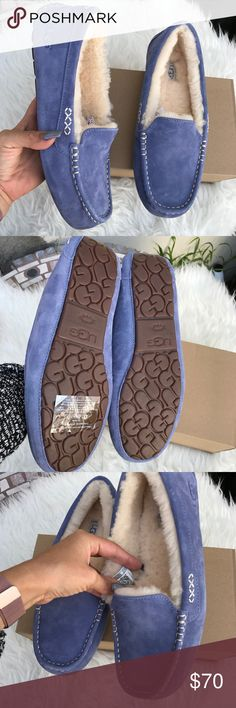 UGG authentic women's Ansley moccasins sz 10 New UGG authentic women's Ansley moccasins sz 10 New BOX is missing Lid. Itemcloset#dossei UGG Shoes