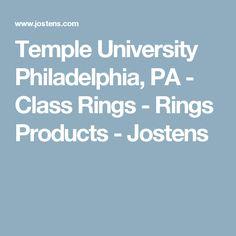 Temple University Philadelphia, PA - Class Rings - Rings Products - Jostens