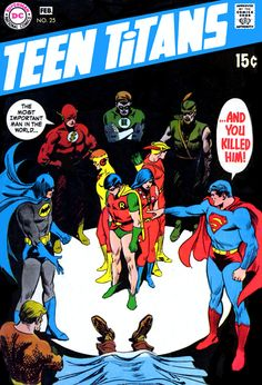 Teen Titans #25. I like anything drawn by Nick Cardy.