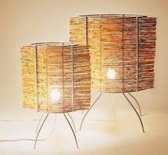 Luminárias de Bambu & Metal - Design Irmãos Campanas