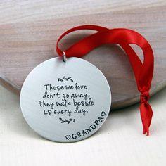 In Memory Ornament Memorial Christmas Ornament by RememberMyAngel