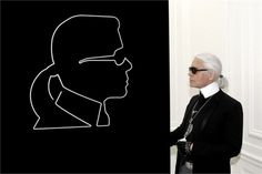 Karl Lagerfeld, born Karl Otto Lagerfeldt September 10, 1933 in Hamburg of a German mother (Elisabeth born Bahlman) and a Swedish father (Otto Lagerfeldt)