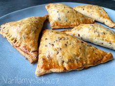 Slovak Recipes, Czech Recipes, Ethnic Recipes, Salty Foods, Aesthetic Food, Bon Appetit, Finger Foods, Good Food, Food And Drink