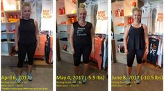 Orangetheory before and after pics -- see how much I've lost in just 2 months!