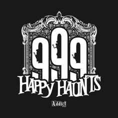 Check out this awesome '999 Happy Haunts' design on @TeePublic!