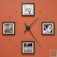 9 #incroyablement fantastique #bricolage grandes #horloges de mur... → DIY