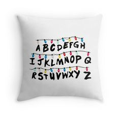 Stranger Things - Alphabet Wall