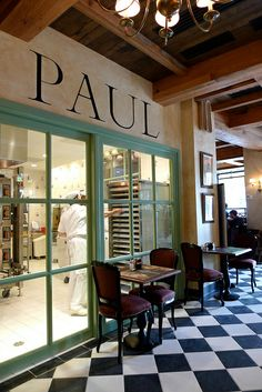 Paul Bakery & Café   One of my favorite quick bites!  Reminds me of lunch in Paris on workdays!!