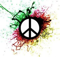peace sign...next tattoo maybe?but probably diffrent colours