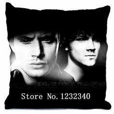 Supernatural Jensen Ackles Jared Padalecki Pillow Cover