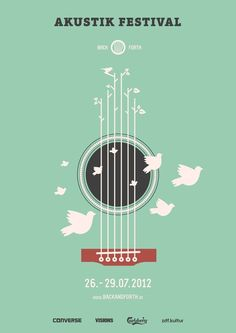 Back and Forth Music Festival by Marcel Bachran, via Behance.  Acoustic design inspiration