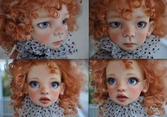 OOAK Maurice and Izzy MSD BJD's by Kaye Wiggs