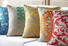 Color Crush Pillows from @Onekingslane