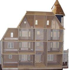 Glencliff Plan - $35.00 : Miniature Dollhouses & Doll House Supplies | Earth & Tree Miniatures & Dollhouses