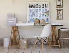 Glass Table #office #white #table