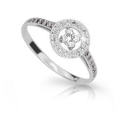 snowwhite engagement ring with a round brilliant diamond (fashion design: Danfil Diamonds) Brilliant Diamond, Her Smile, Love Her, Diamonds, Engagement Rings, Unique, Fashion Design, Jewelry, Enagement Rings