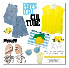 """Physical Culture"" by helenevlacho ❤ liked on Polyvore"