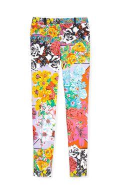 Vintage Print Pants by Versace #shopitrightnow
