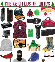 Christmas gift ideas for teen boys by Meg Duerksen of Whatever Craft blog