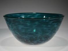 Marbro bowl in Green by Tom Stoenner Glass. American Made. See the designer's work at the 2015 American Made Show, Washington DC. January 16-19, 2015. americanmadeshow.com #bowl, #glass, #americanmade