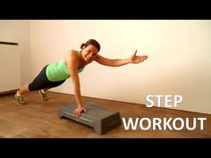 10 Minute Step Workout Routine – Fat Burning Step Up Exercises - YouTube