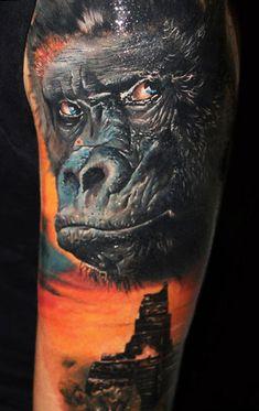 Tattoo Artist - Alex De Pase | www.worldtattoogallery.com/movies_tattoo