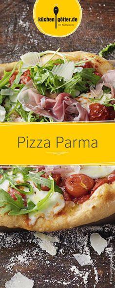 Selbst gemachte Pizza schmeckt am besten! Versucht dieses Rezept für unsere Pizza Parma.