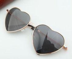 Heart-Shaped-Woman-Fashion-Accessories-Eyewear-Teen-Orange-Lens-Retro-Sunglasses #FashionAccessoriesteens