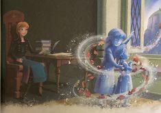 Disney Pics, Disney Pictures, Disney Stuff, Disney Art, Art Pictures, Frozen Queen, Queen Elsa, Frozen Disney, Olaf Frozen