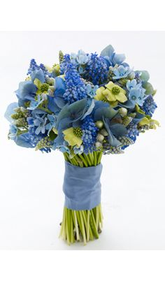 "Wedding Accessories: New ""Something Blue"" Ideas - Bridal Fashion - Wedding Accessories"