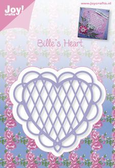 Joy!Crafts mallen 6002/0344 Bille s Hearts 2