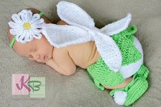 Crochet Fairy Costume Diaper Cover Set by GigisCrochetProps, $35.00
