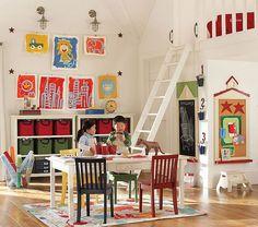 Cool Kids Playroom Design Ideas