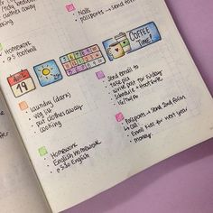 Trying something different for my daily spread for tomorrow.    #bulletjournal #planning #organization
