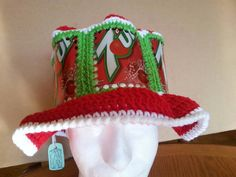Aluminum can #crochet hat made by KatsCoolCreations on Etsy