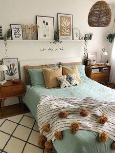 Room Ideas Bedroom, Home Bedroom, Bedroom Decor, Bedrooms, Bedroom Inspo, Cozy Room, Aesthetic Bedroom, House Rooms, Cozy House
