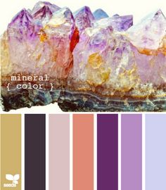 amethyst colour palette