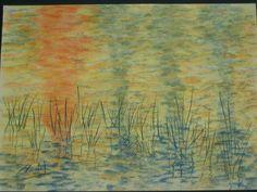 cuadro claudia - pastel tiza