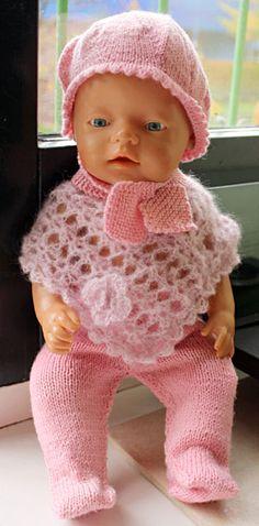 Foto af poncho til BabyBorn