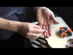 Nespresso Jewellery Flower english video tutorial