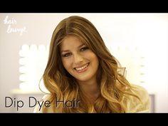 Dip Dye Hair – braune Haarspitzen aufhellen - L'Oréal Paris