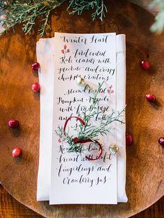 Marsala Holiday Inspiration Ideas by Amore Events by Cody (Styling & Decor) + Rachel May Photography - via Magnolia Rouge (Ribbon: MIDORI)