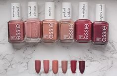 essie - Resort 2017 | Vergleiche, Vergleiche, Vergleiche... | ♥ In Love With Life ♥ | Bloglovin'