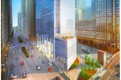 Towering Skyscraper Planned For Riverfront Spot Next To Civic Opera House - Downtown - DNAinfo Chicago