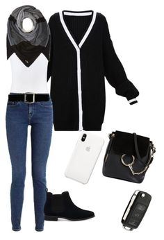 """""""Untitled #225"""" by roo-v on Polyvore featuring Vince, Calvin Klein, Express, Coach, Chloé, TOMS and Apple"""