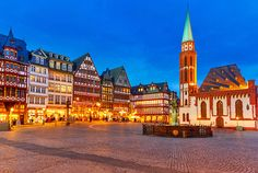 The Römerberg - Frankfurt's Old Town Center