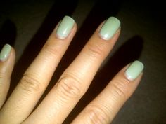Shellac... Mint Green :)