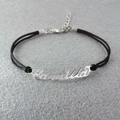 Find More Charm Bracelets Information about Free shipping  Personalized Name Bracelet Personalized Name Jewelry Alloy Nameplate Bracelet Rope Chain Custom Your Name,High Quality chain small,China chain car Suppliers, Cheap chain wrap from Personalized Jewelry on Aliexpress.com